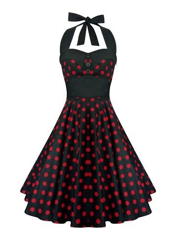 rockabilly klänning billigt